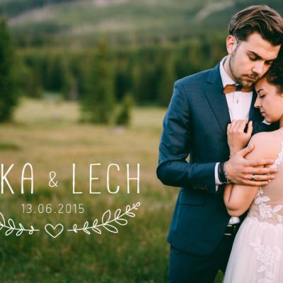 Ilka i Lech - reportaż ślubny