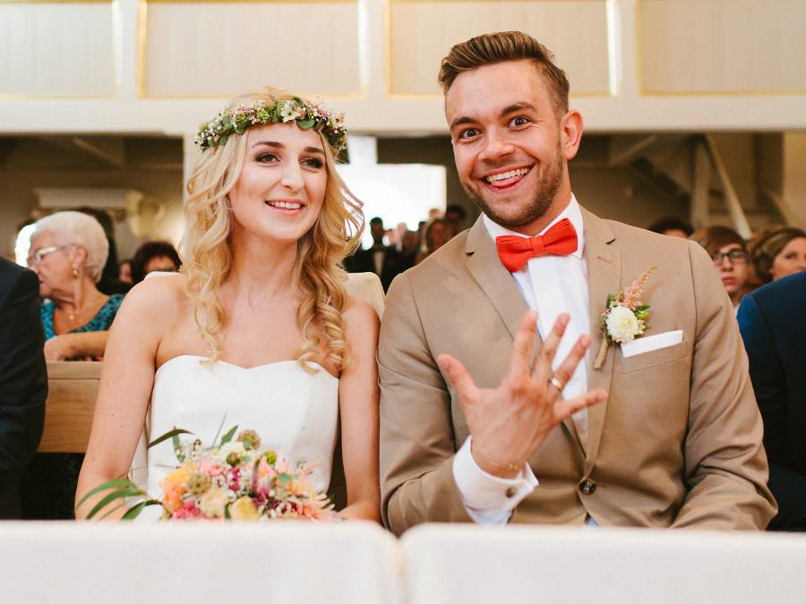 Ada I Artur ślub W Stylu Rustykalnym