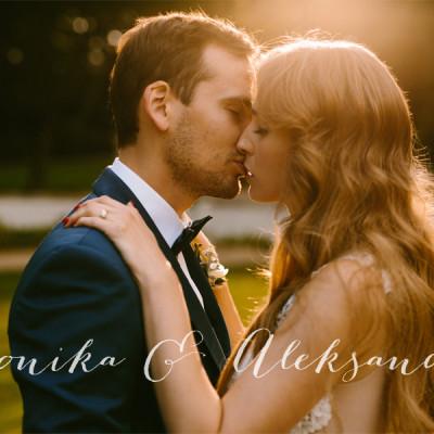 Monika i Aleksander - reportaż ślubny
