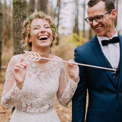 Rustykalny ślub Kasi i Marka