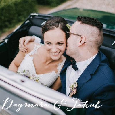Daga i Kuba - wzruszający ślub w stylu rustykalnym